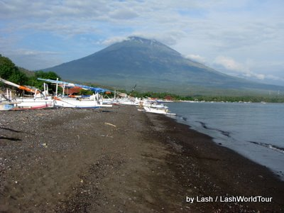 Mt Agung From Amed Bali
