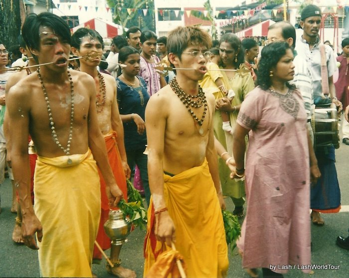 Photos of Thaipusam Festival in Penang - Malaysia
