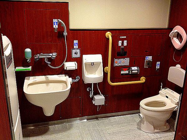 Japanese Public Toilets